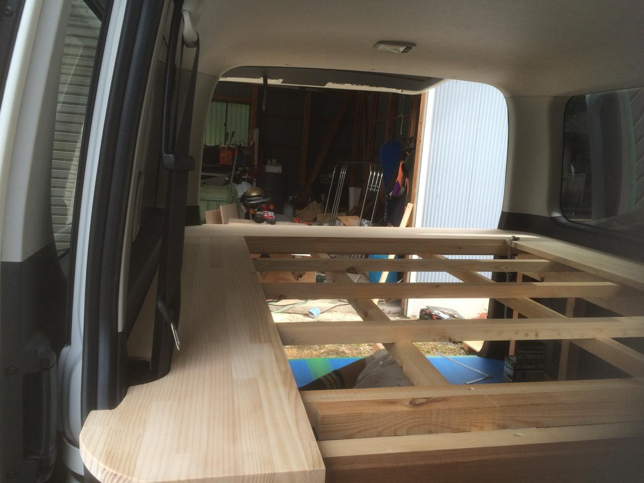 Carrier for wooden Hiace2